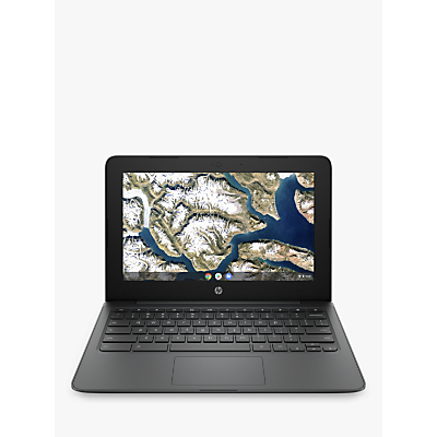 Image of HP 11a-nb0000na Chromebook Laptop, Intel Celeron Processor, 4GB RAM, 32GB eMMC, 11.6, Grey