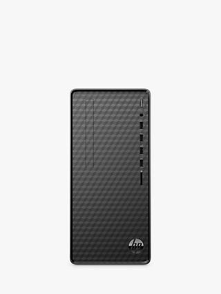 HP M01-F0026na Desktop PC, AMD Ryzen 5 Processor, 8GB RAM, 1TB HDD + 256GB SSD, Jet Black
