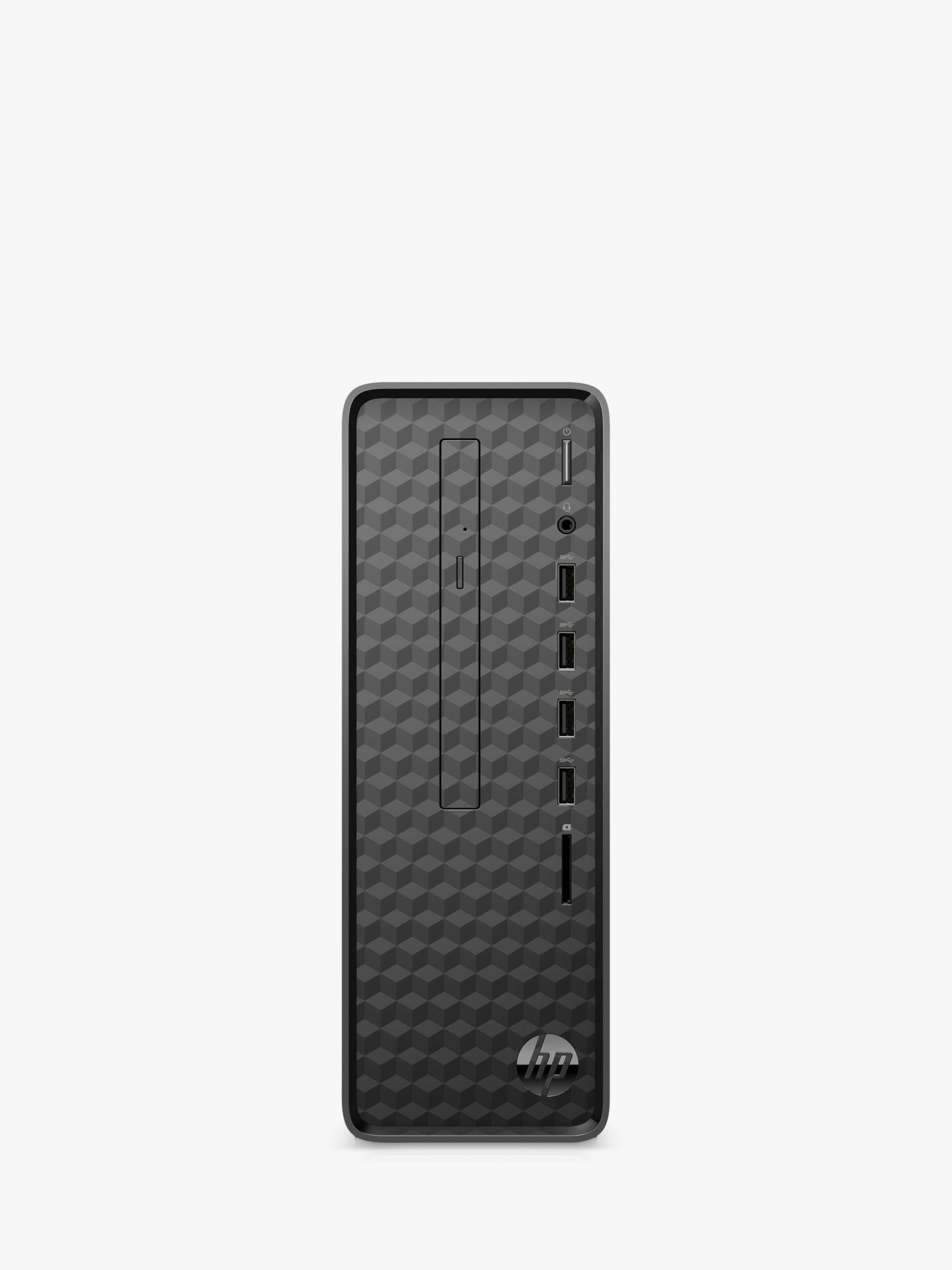 HP Slim S01-aF1004na Desktop PC, Intel Pentium Processor, 8GB RAM, 1TB HDD