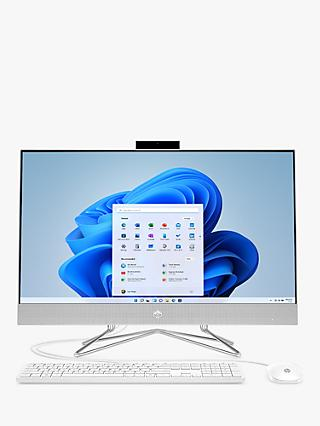 "HP 27-dp0012na All-in-One Desktop PC, Intel Core i5 Processor, 8GB RAM, 512GB SSD, 27"" Full HD, Natural Silver"