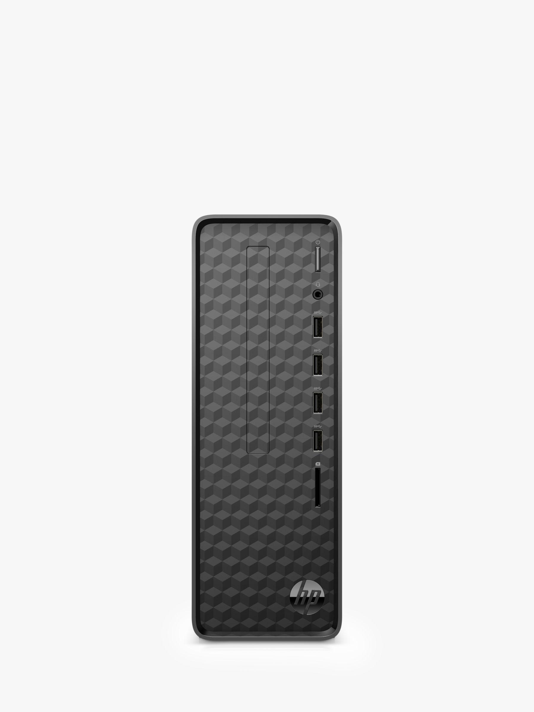 HP Slim S01-aF1000na Desktop PC, Intel Celeron Processor, 4GB RAM, 1TB HDD