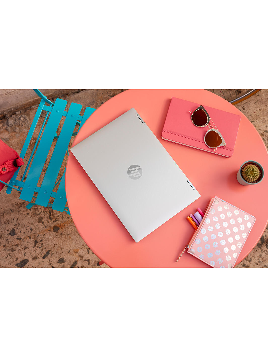 "Buy HP Pavilion x360 14-dw0021na Laptop, Intel Core i5, 8GB RAM, 512GB SSD, 14"" Full HD, Silver Online at johnlewis.com"
