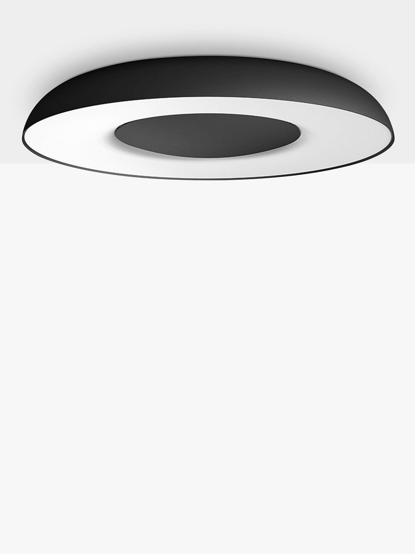 Philips Hue White Ambiance Still Led Semi Flush Ceiling Light With Bluetooth And Dimmer Switch At John Lewis Partners