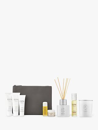 ESPA Positivity Diffuser, Pulse Point Oil and Candle Bundle with Gift