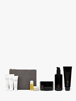 ESPA Modern Alchemy Grounding Crystals, Hydration Lotion and Cleansing Milk Bundle with Gift