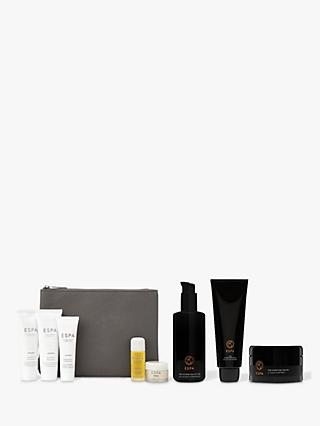 ESPA Modern Alchemy Hydration Lotion, Cleansing Milk and Purifying Polish Bundle with Gift