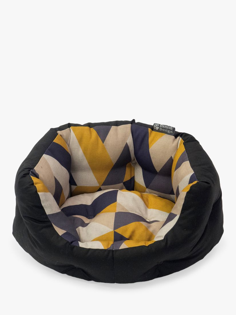 Danish Design Eco-Wellness Geometric Tiles Dog Bed