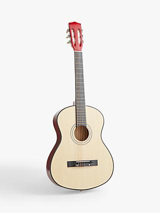 John Lewis & Partners Wooden Acoustic Guitar