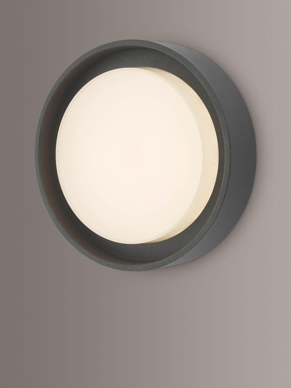 Där Ralph LED Small Flush Outdoor Wall Light, Anthracite