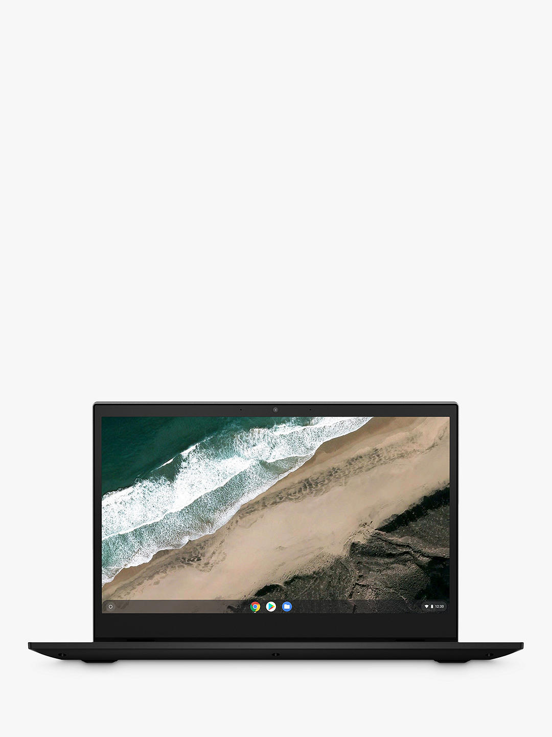 "Buy Lenovo S345 Chromebook Laptop, AMD A6 Processor, 4GB RAM, 64GB eMMC, 14"" Full HD, Mineral Grey Online at johnlewis.com"