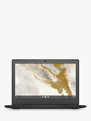 Lenovo IdeaPad 3 82BA0006UK Chromebook Laptop, Intel Celeron Processor, 4GB RAM, 32GB eMMC, 11.6 HD, Onyx Black