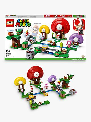LEGO Super Mario 71368 Toad's Treasure Hunt Expansion Set