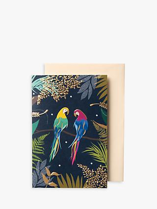 Sara Miller Parrots Note Cards, Pack of 10