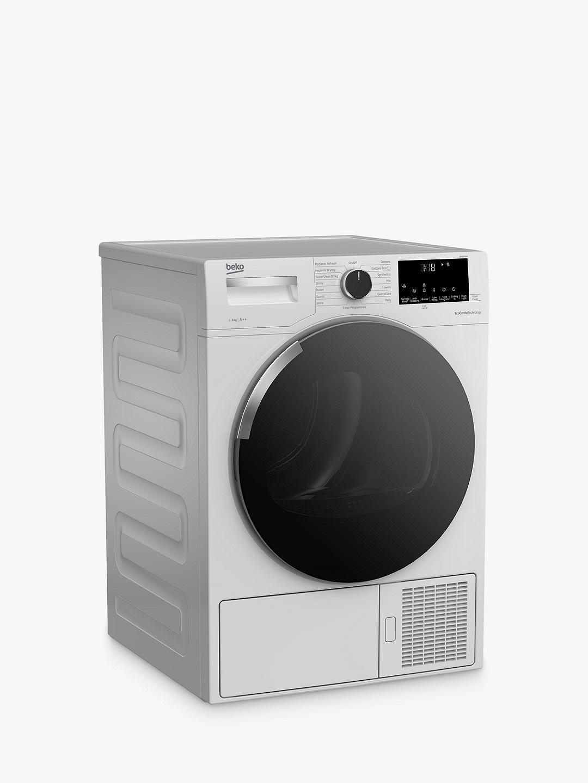 Beko DHY9P46W Heat Pump Freestanding Tumble Dryer, 9kg ...