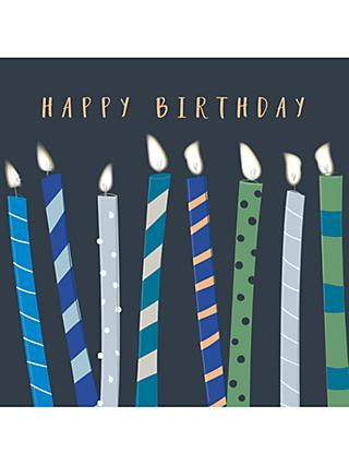 Belly Button Designs Candles Birthday Card