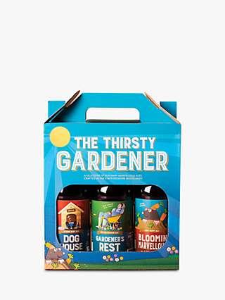 Cottage Delight Thirsty Gardener Craft Beer Set, 3x 500ml