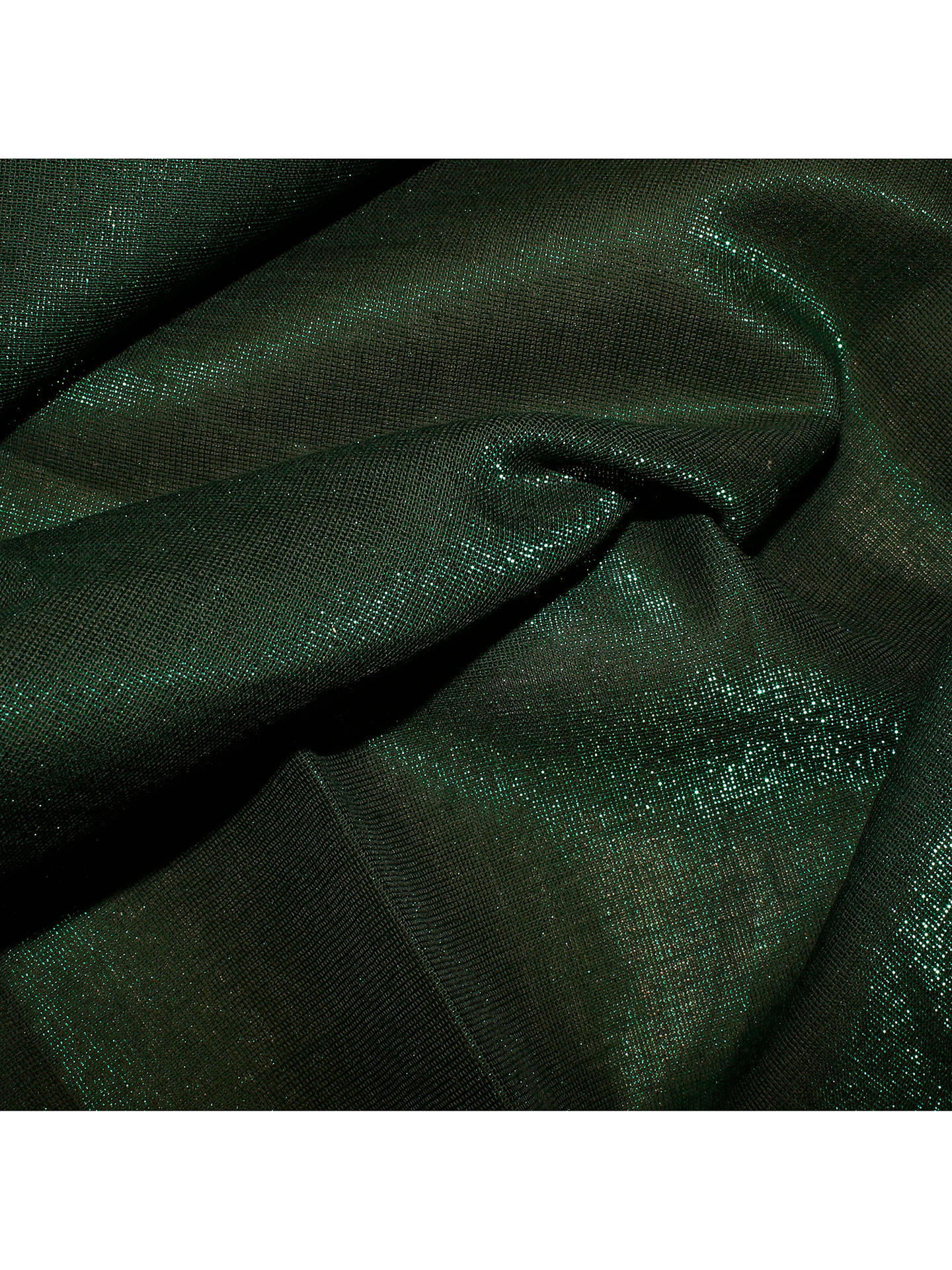 Buy Oddies Textiles Shimmer Fabric, Green Online at johnlewis.com