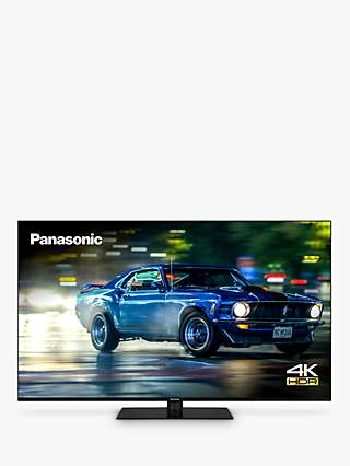 Panasonic TX-50HX600B (2020) LED HDR 4K Ultra HD Smart TV, 50 inch with Freeview Play & Dolby Atmos, Black