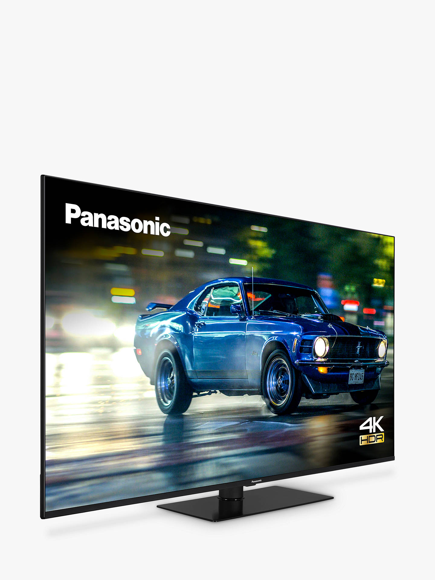 Buy Panasonic TX-65HX600B (2020) LED HDR 4K Ultra HD Smart TV, 65 inch with Freeview Play & Dolby Atmos, Black Online at johnlewis.com