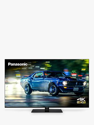Panasonic TX-55HX600B (2020) LED HDR 4K Ultra HD Smart TV, 55 inch with Freeview Play & Dolby Atmos, Black
