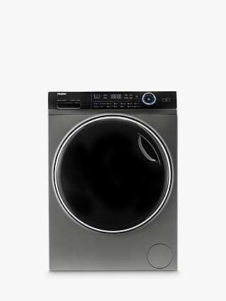 Haier i-Pro Series 7 HW100-B14979S Freestanding Washing Machine, 10kg Load, 1400rpm Spin, Graphite