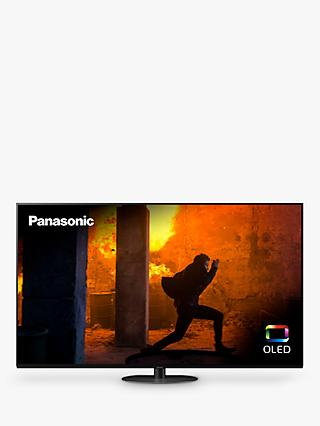 Panasonic TX-55HZ980B (2020) OLED HDR 4K Ultra HD Smart TV, 55 inch with Freeview Play & Dolby Atmos, Black