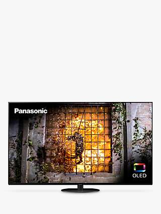 Panasonic TX-55HZ1000B (2020) OLED HDR 4K Ultra HD Smart TV, 55 inch with Freeview Play & Dolby Atmos, Black