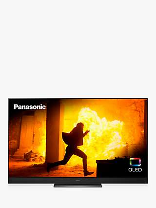Panasonic TX-55HZ2000B (2020) OLED HDR 4K Ultra HD Smart TV, 55 inch with Freeview Play & Dolby Atmos, Black