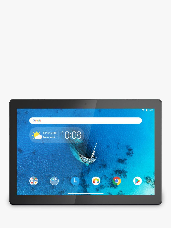 Lenovo Tab M10 ZA4G0109GB Tablet, Android, 2GB RAM, 16GB eMMC, 10.1 HD, Slate Black