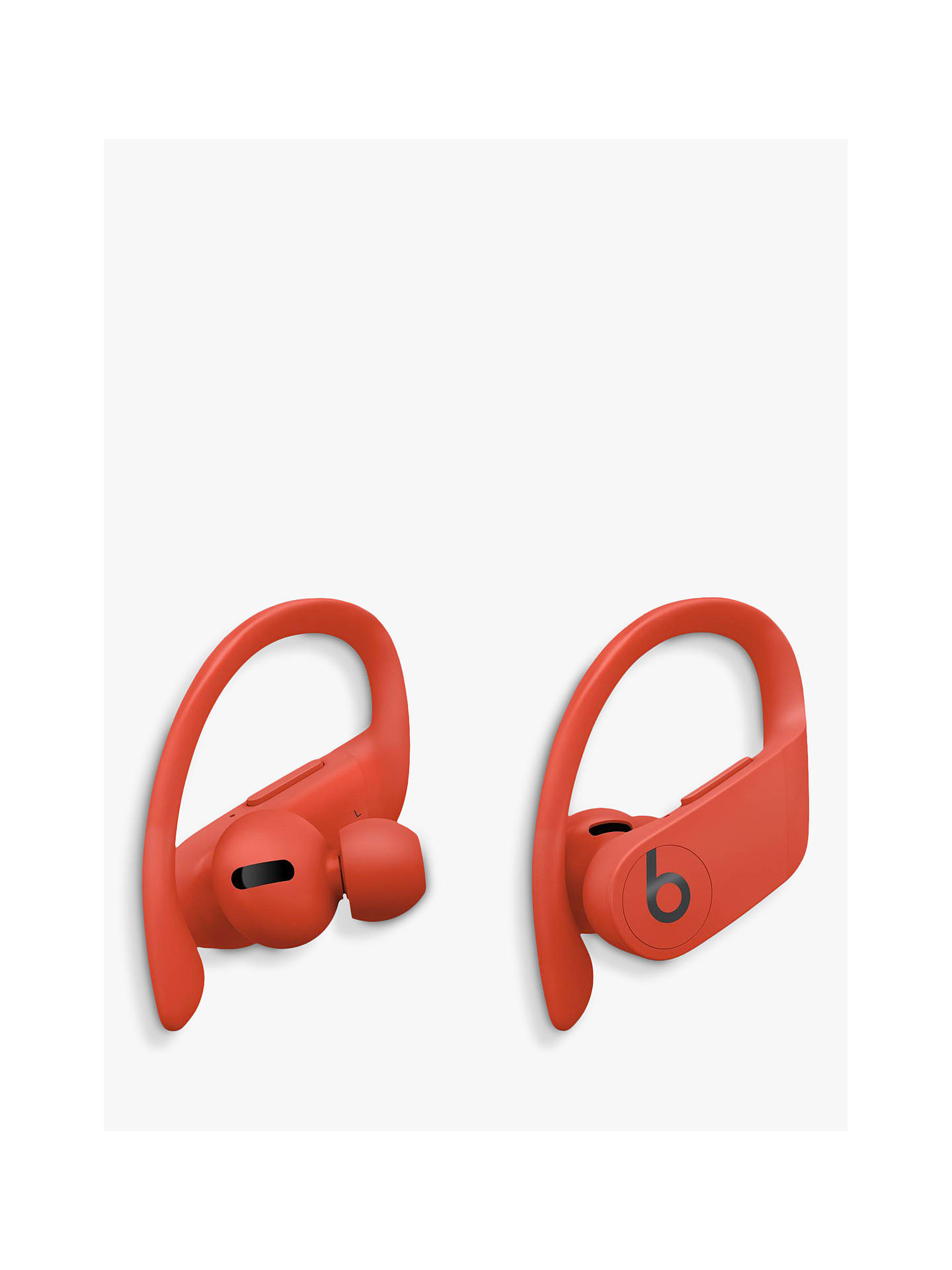 Buy Powerbeats Pro True Wireless Bluetooth In-Ear Sport Headphones with Mic/Remote, Lava Red Online at johnlewis.com