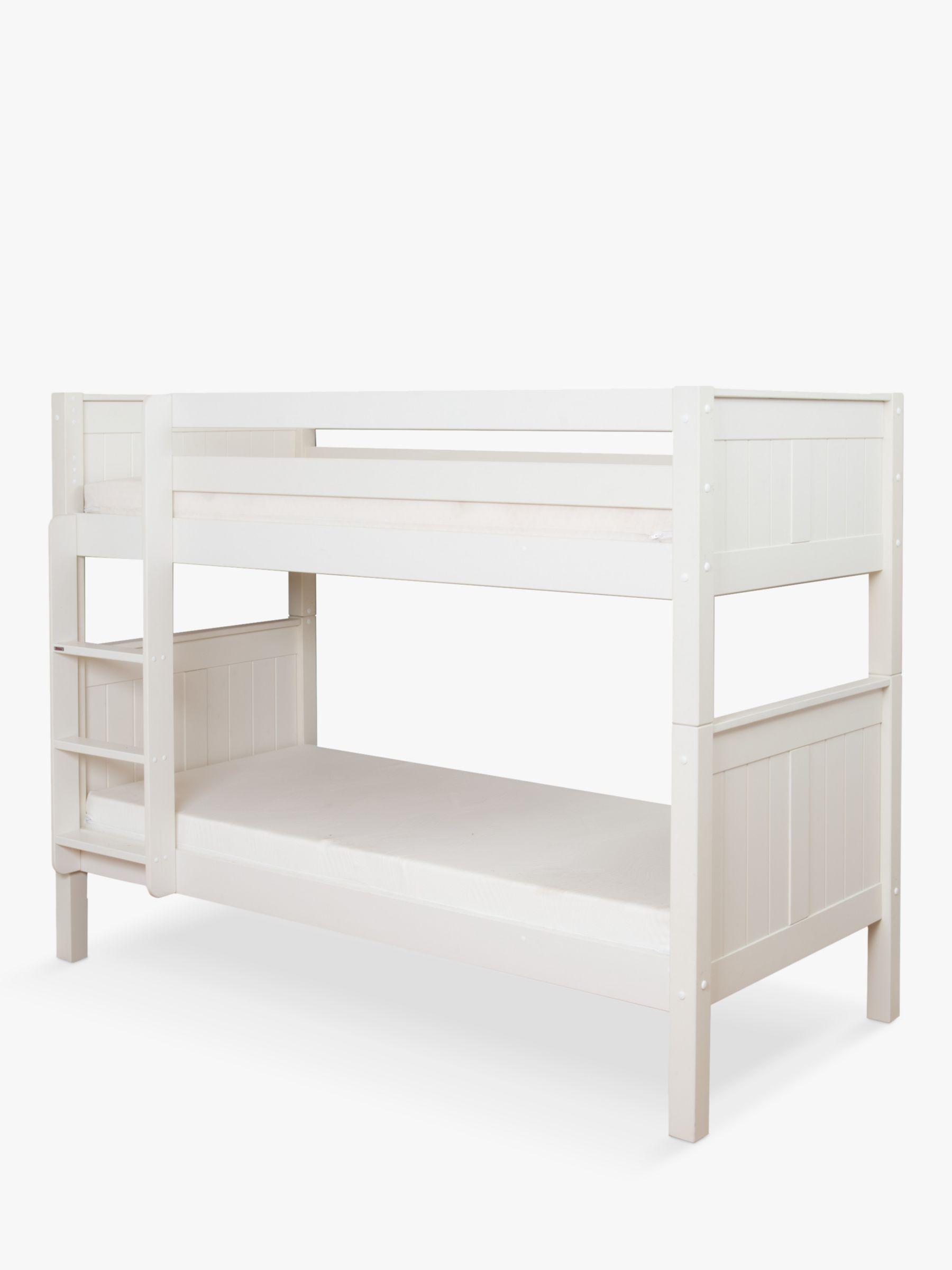 Stompa Classic Child Compliant Bunk Bed, Single, White