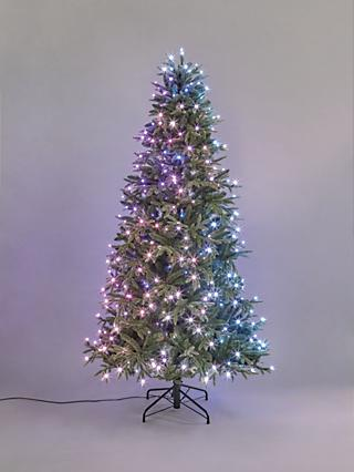 Twinkly Rainbow Pre-lit Christmas Tree, 7ft
