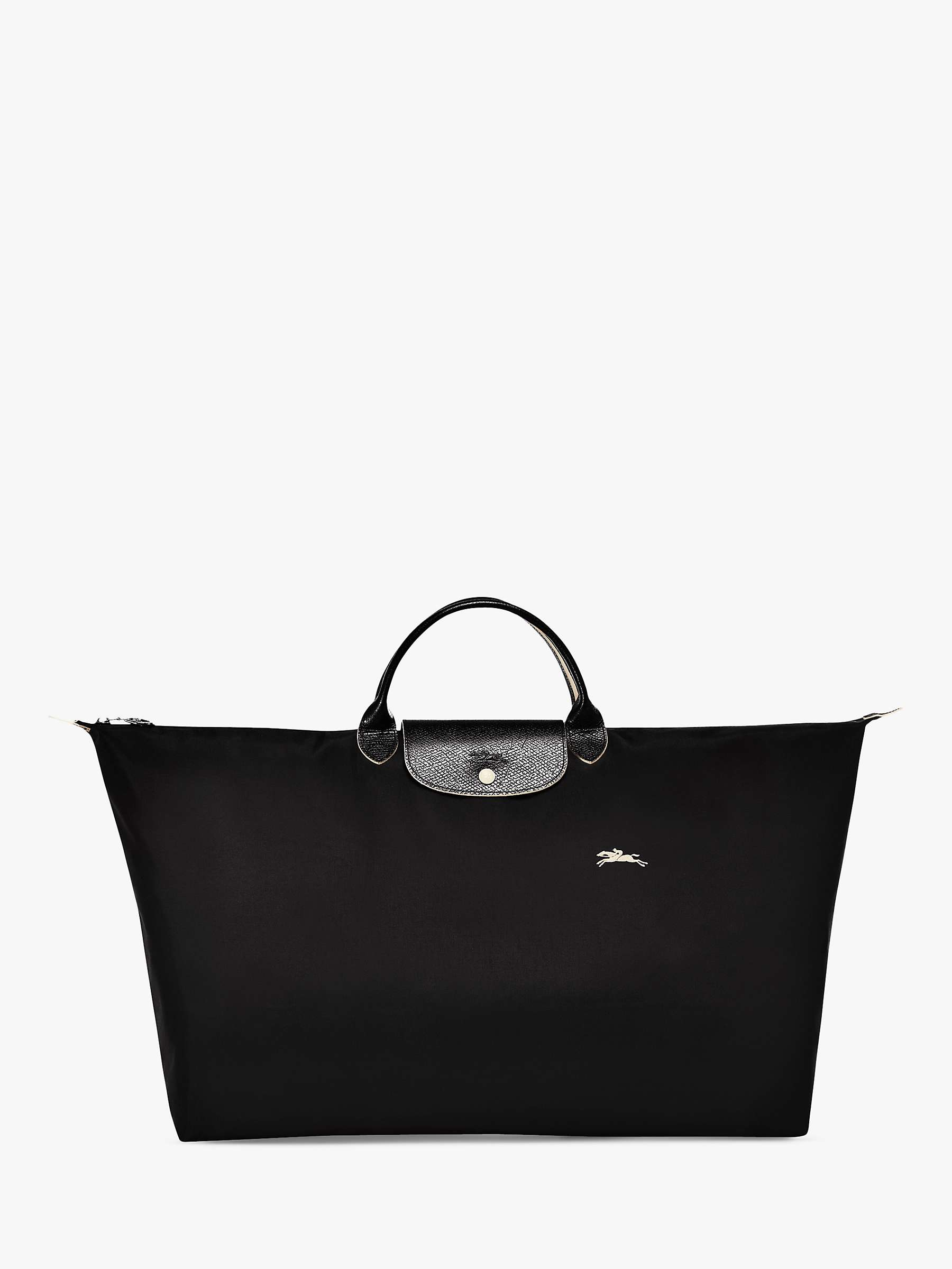 Longchamp Le Pliage Club XL Travel Bag, Black