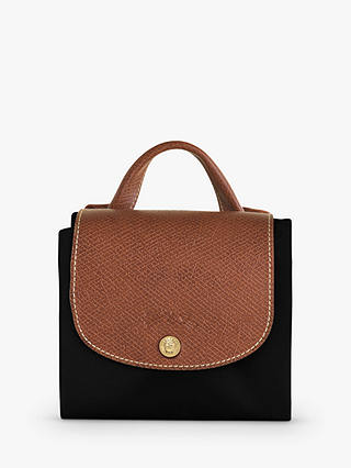 Buy Longchamp Le Pliage Original Backpack, Black Online at johnlewis.com