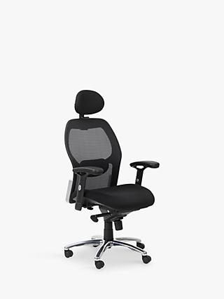 Alphason Portland Office Chair, Black