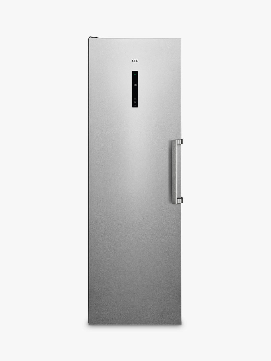 Buy AEG 7000 AGB728E5NX Freestanding Freezer, Stainless Steel Online at johnlewis.com