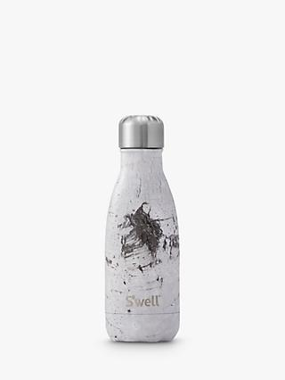 S'well White Birch Wood Vacuum Insulated Drinks Bottle, 256ml