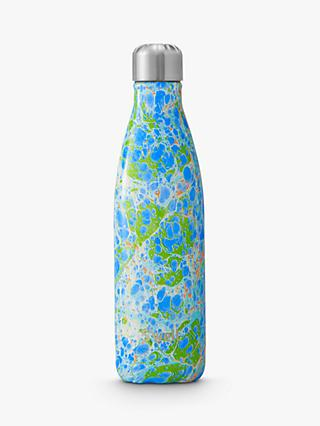 S'well Guazzo Vacuum Insulated Drinks Bottle, 500ml, Blue/Green