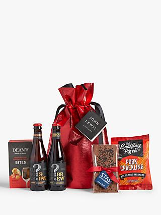 John Lewis & Partners Beer Gift Bag