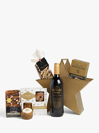 John Lewis & Partners Starry Delights Christmas Hamper