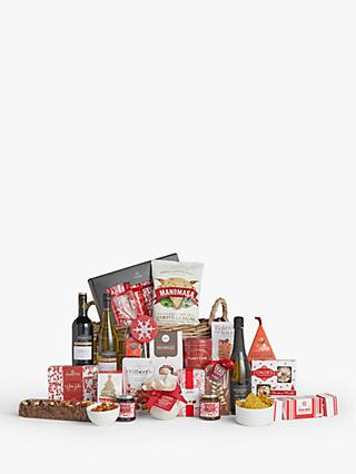 John Lewis & Partners Winter Berry Christmas Hamper