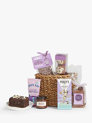 John Lewis & Partners Chocolate Lover's Gift Basket
