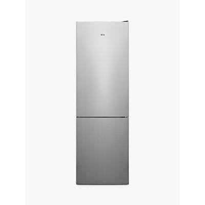 AEG 6000 RCB632E4MX Freestanding 60/40 Fridge Freezer, A++ Energy Rating, 60cm Wide, Stainless Steel