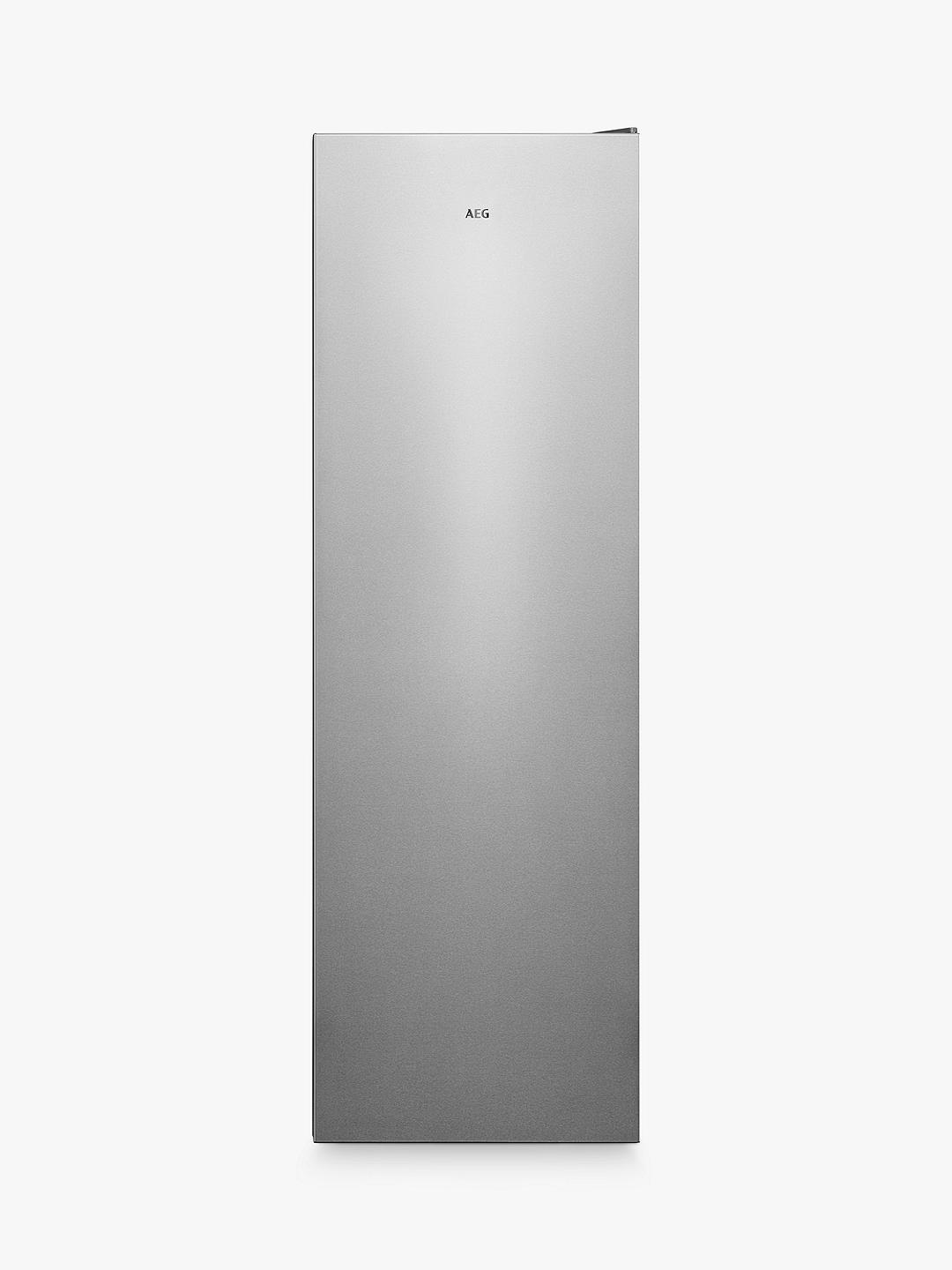 Buy AEG 7000 AGB728E1NX Freestanding Freezer, Stainless Steel Online at johnlewis.com