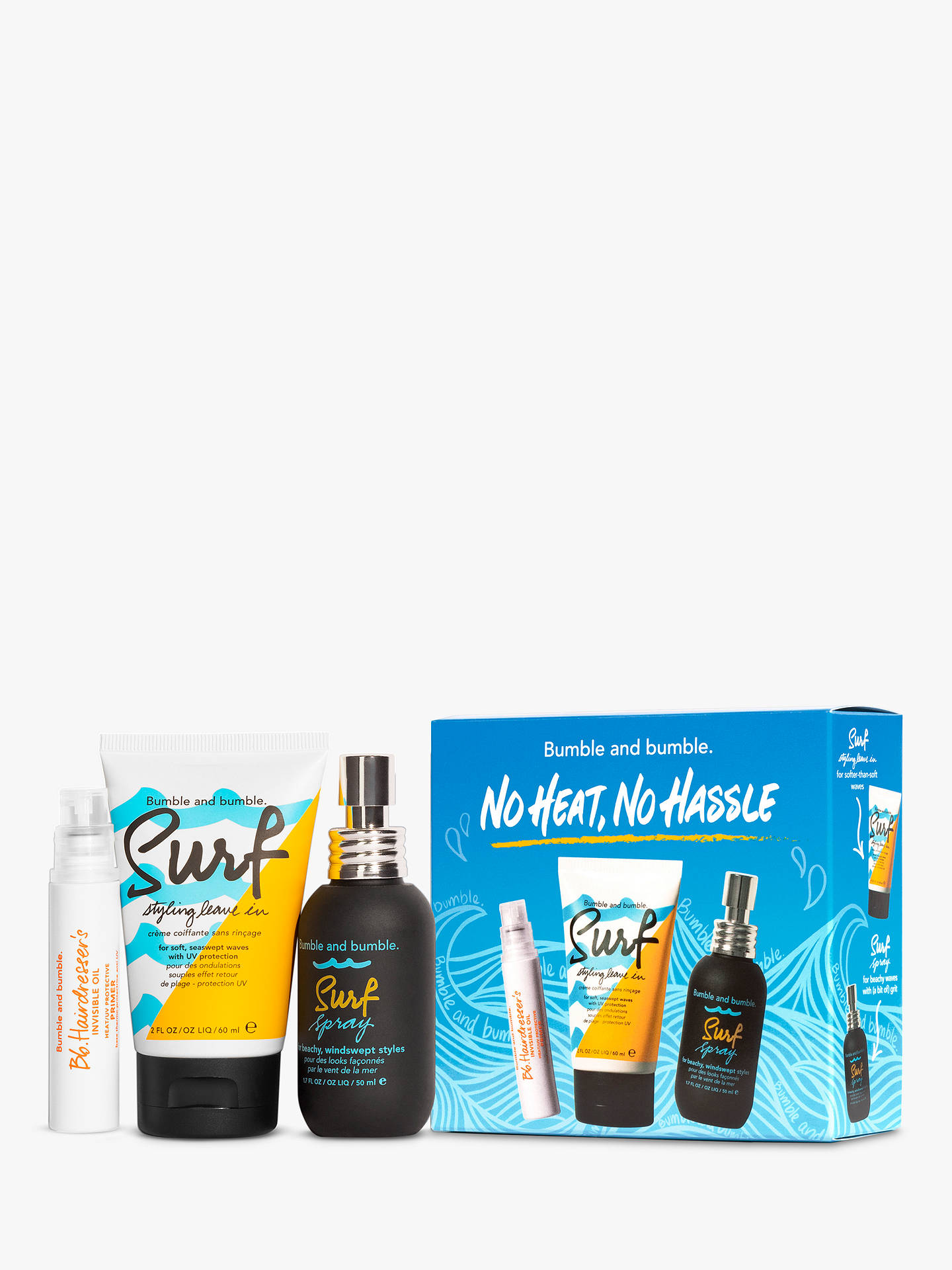 Buy Bumble and bumble No Heat No Hassle Haircare Gift Set Online at johnlewis.com