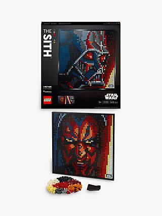 LEGO Art 31200 Star Wars The Sith Buildable Poster