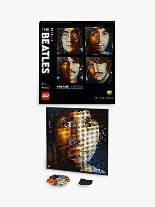 LEGO Art 31198 The Beatles Buildable Poster