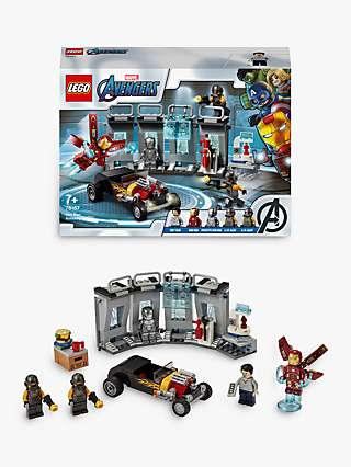 LEGO Marvel Avengers 76167 Iron Man Armoury