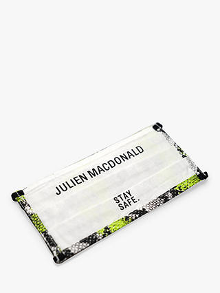 Buy Great British Designer Face Coverings - Julien Macdonald, RIXO, Liam Hodges, Pack of 3 Online at johnlewis.com