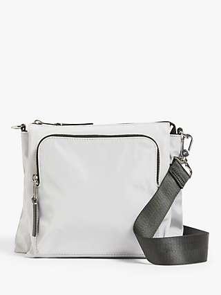 Kin East West Cross Body Bag, Grey